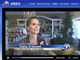 Tisha ODowd of Abbracci Studio interviewed on ABC7