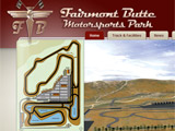 The New Fairmont Butte Motorsports Park Web Site