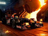 The STR2 Formula One Car, from the Scuderia Toro Rosso official Web Site